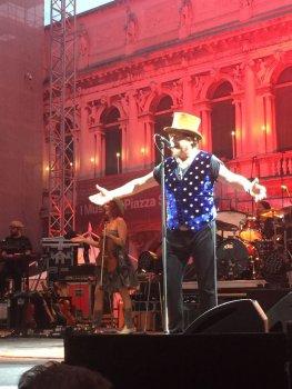 Concert van Zucchero in Venetië bijgewoond
