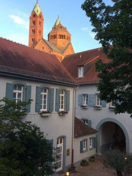 Tussenstop in mooi Speyer