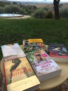 Nieuwe boeken in het huis